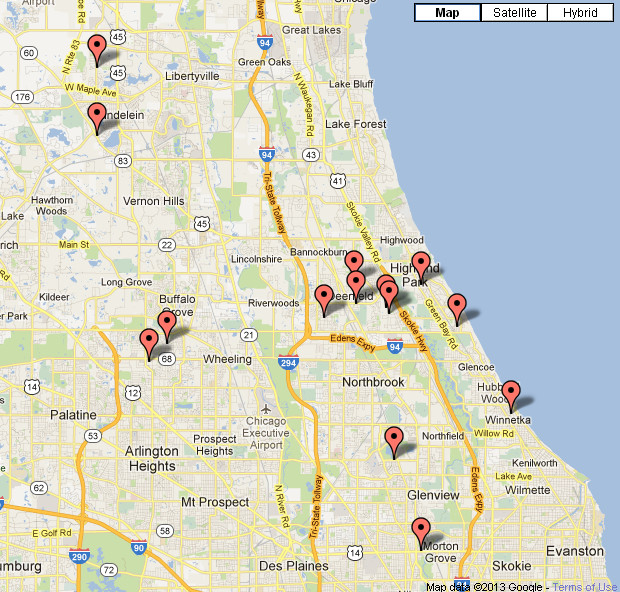 Locations Fit 4 Kids Club In Chicago